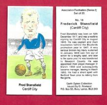 Cardiff City Fred Stansfield 18